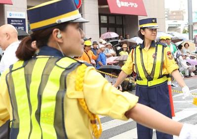 女性警備業員の需要も増加中